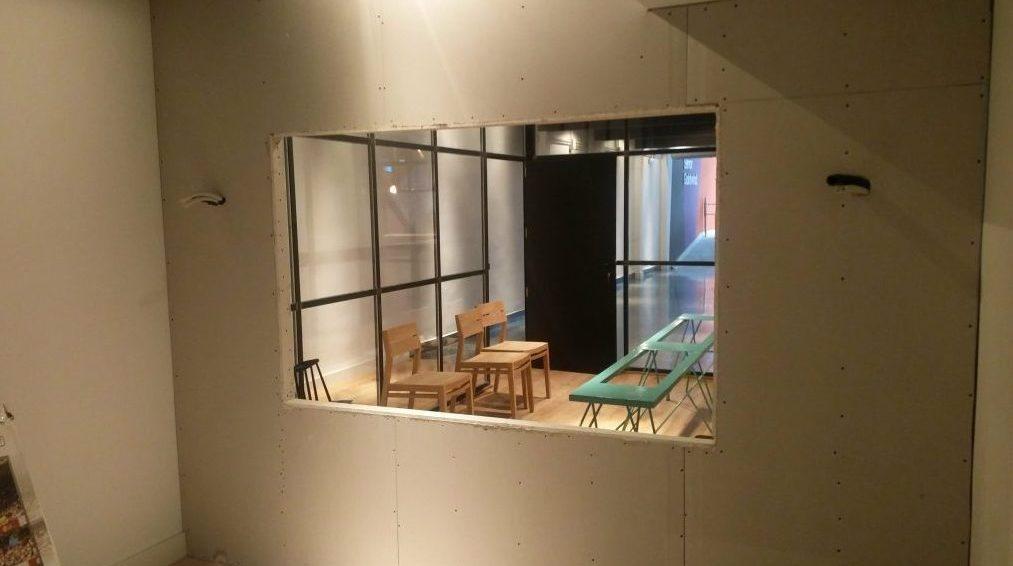 Obras en el nuevo laboratorio de TeaCup Lab