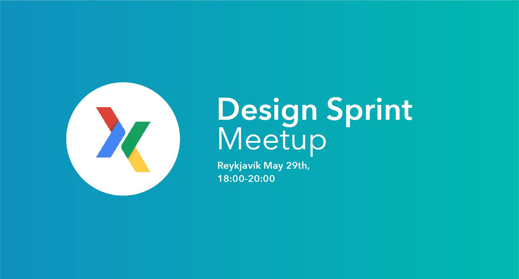 Design Sprint Meetup in Reykjavik, Tuesday May 22nd, 18:00, with TeaCup Lab