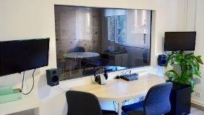 Sala de Observación del laboratorio de Investigacion de TeaCup Lab Madrid