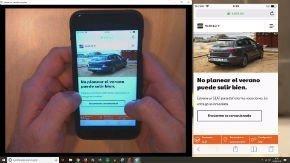 Test de usabilidad en movil - TeaCup Lab Madrid